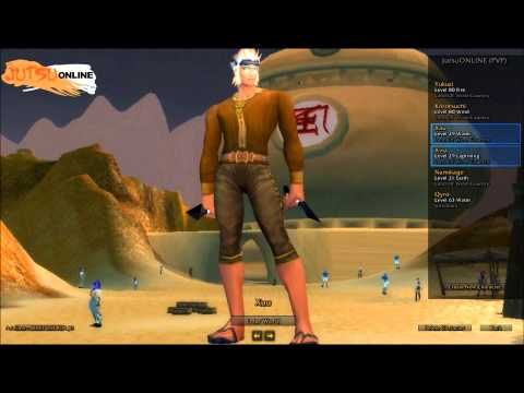 JO -Jutsu Online World of warCraft Naruto Rp server