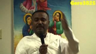 Deacon Daniel Kibret -  Ethiopian Orthodox Tewahdo Sebket.