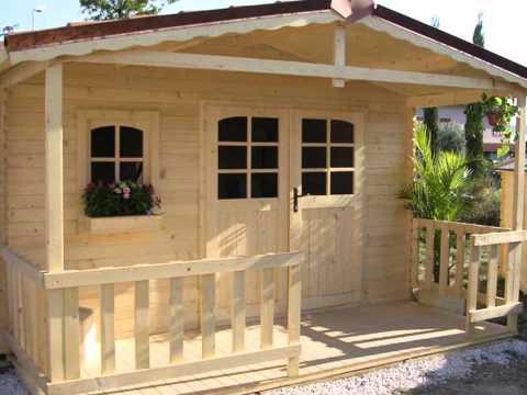 Casette in legno da giardino youtube for Casette legno economiche