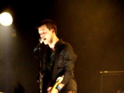 White Lies - Death live Warszawa 07.02.2010 Stodoła