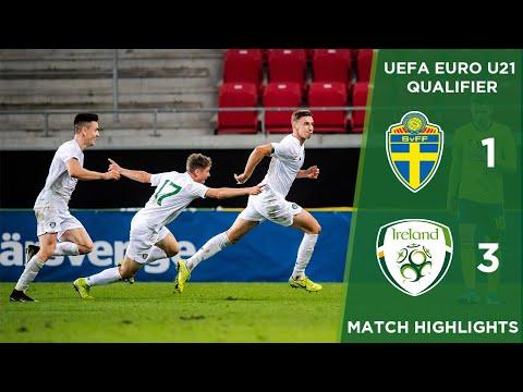 #IRLU21 GOALS | Sweden 1-3 Ireland