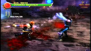 Inferno Scorpion Vs Subzero *Bosses Fixed Codes* (Ps2 Mortal Kombat: Shaolin Monks)
