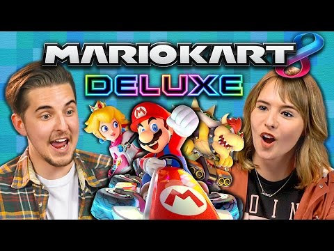 MARIO KART 8 DELUXE TOURNAMENT (College Kids React: Gaming)