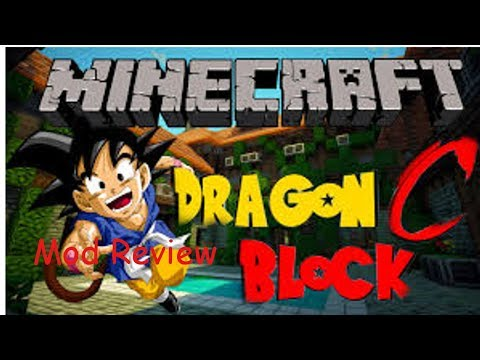 Minecraft Dragon Ball Z Mod Review