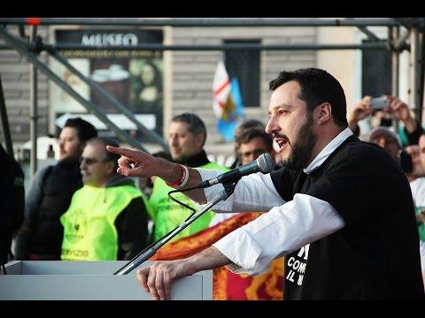 RENZI A CASA! Intervento di Matteo Salvini [Roma, 28/02/2015]