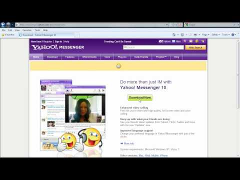 How to download Yahoo! Messenger