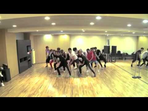 PSY Gangnam Style mirror dance practice