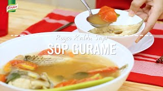 Resep Royco - Sop Gurame