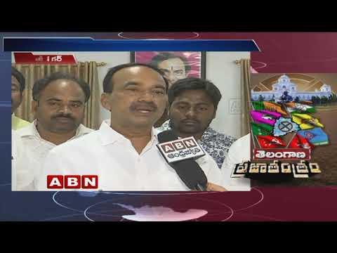 Etela Rajender responds on CM Chandrababu Naidu joins hands with Congress to defeat BJP | ABN Telugu