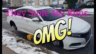They Got Me My Rims Got Stolen 2018-2019 Honda Accord 2.0T (BE AWARE)!!!!!