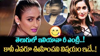 Ileana With Ravi Teja Replacing Anu Emmanuel In Srinu Vaitla Amar Akbar Anthony | Top Telugu Media