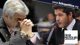 Senador petista Humberto Costa xinga Bolsonaro de capacho e acaba humilhado pelo Delegado Waldir