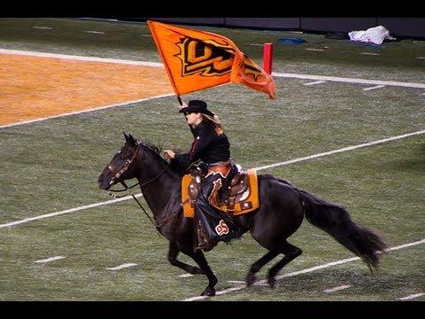 Bullet Horse Mascot & Spirit Rider - Oklahoma State ...