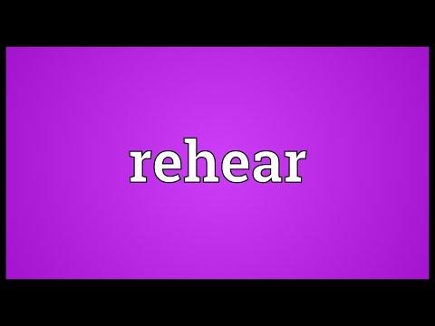 Header of rehear