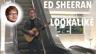 ED SHEERAN LOOKALIKE AT ED SHEERAN CONCERT