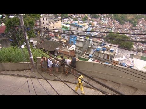 Would you stay in a Rio shanty town?