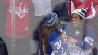 Gotta See It: JVR fails, Matthews succeeds in hooking fans up with puck