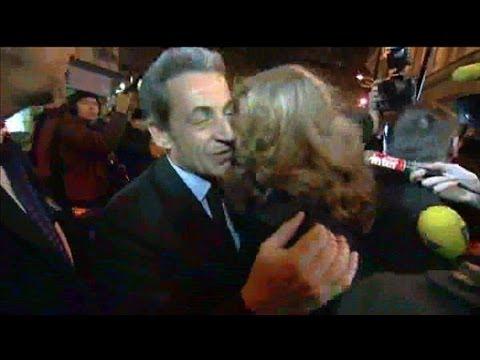 Nicolas Sarkozy présent au meeting de NKM