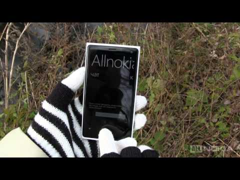 Обзор смартфона на WP8 Nokia Lumia 920 для allnokia.ru