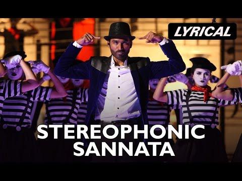 Stereophonic Sannata (Lyrical Song) | SHAMITABH | Amitabh Bachchan, Dhanush & Akshara Haasan