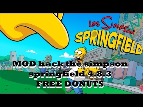 MOD hack the simpson springfield 4.8.3 [FREE DONUTS] 23/05/2014