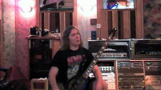 "Cannibal Corpse ""Torture"" studio video: guitar and bass tracking"