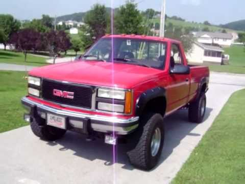 1992 gmc 1500 lift youtube. Black Bedroom Furniture Sets. Home Design Ideas