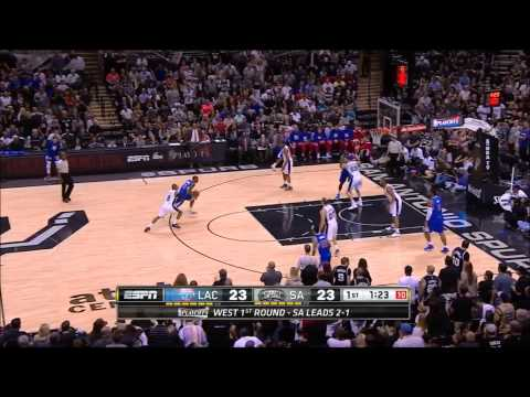 「14-15 NBA Playoffs」La Clippers Offense - Jamal Crawford Style