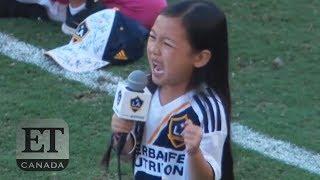 7-Year-Old Malea Emma's Stunning Anthem