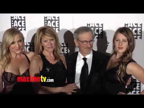 Steven Spielberg, Kate & Jessica Capshaw 63rd Annual ACE Eddie Awards Red Carpet Arrivals