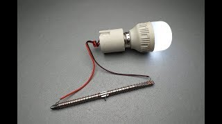 New Free Energy Generator Magnet & Speaker Real New Technology New Idea Project.