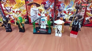 6 hộp Lego Ninjago các loại quái vật đồ chơi trẻ em brick toy for kids