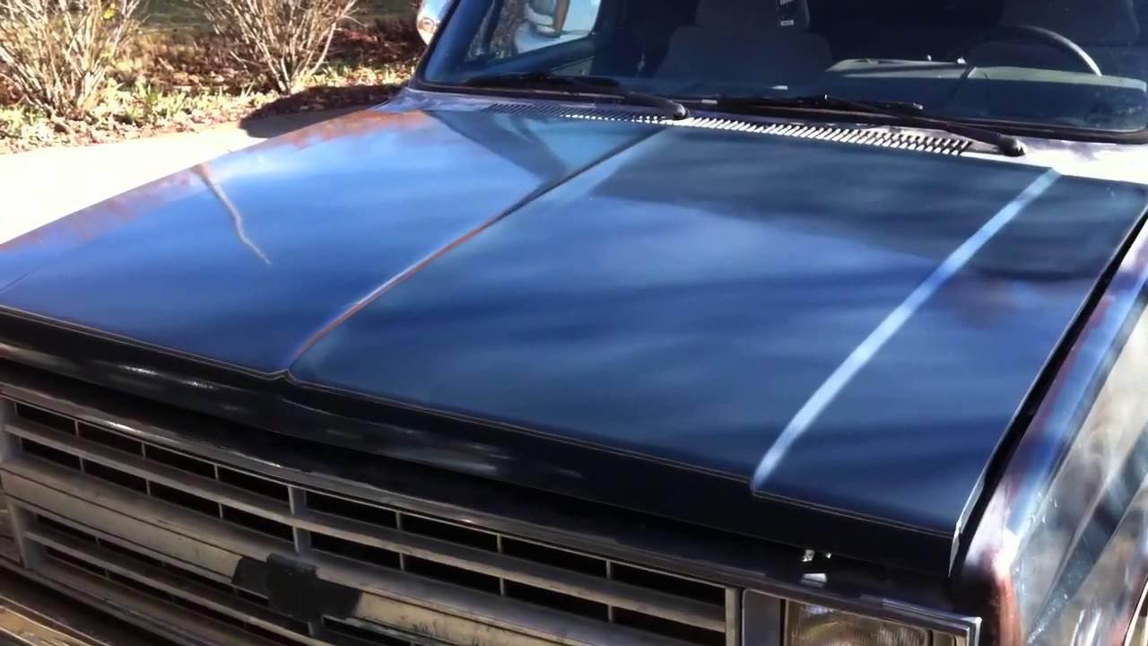 Rustoleum Paint Job Rolled On 84 Chevrolet Truck C10