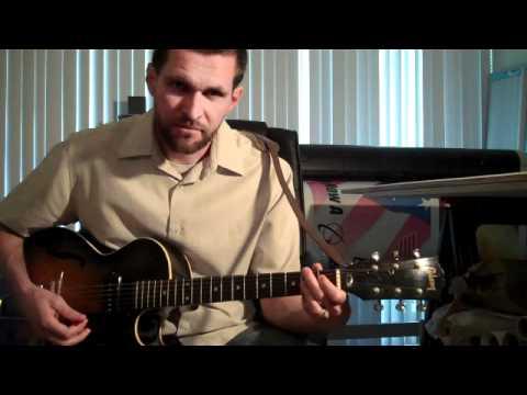 Chicago Blues Guitar (Lesson 5) - Chords / Rhythms (Part 1)