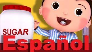Download Johny, Johny. ¿Sí, papá? | Canciones infantiles | LittleBabyBum 3Gp Mp4