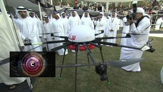 Drones for Good: $1m competition in Dubai - BBC Click