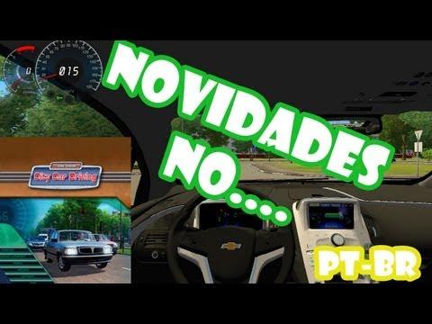 Novidades no City Car Driving Agora em Português Oficial