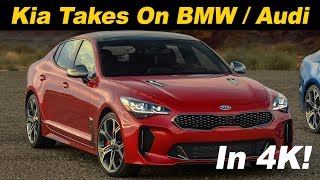 2018 Kia Stinger GT Review - First Drive In 4K