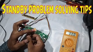 LCD LED TV Standby problem solving tips
