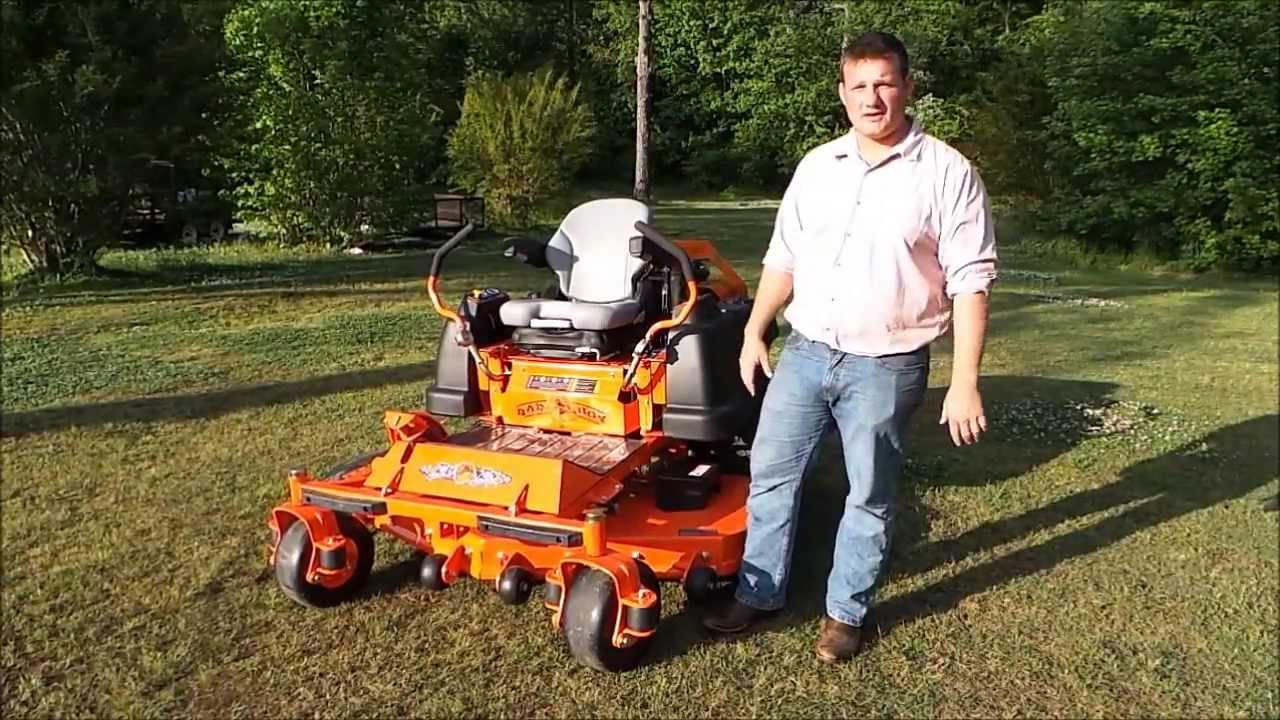 54IN BIG DOG STOUT MP COMMERCIAL ZERO TURN MOWER! ONLY $80