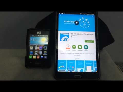 Como pasar aplicaciones por Bluetooth para cualquier Android