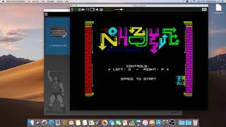 Loading and playing nohzdyve from BlackMirror Bandersnatch in Retro Virtual Machine