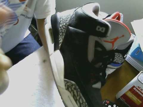 How to paint a midsole using angelus paint