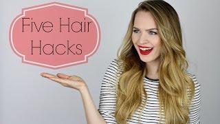 5 Easy Hair Hacks!