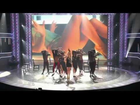 HD Kylie Minogue - GET OUTTA MY WAY (Live on America's Got Talent)