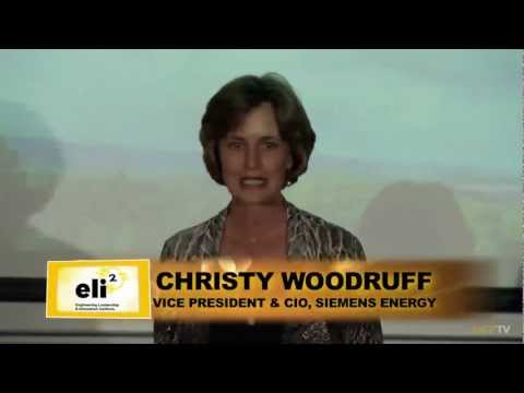 eli2: Christy Woodruff, Vice President and CIO, Siemens Energy