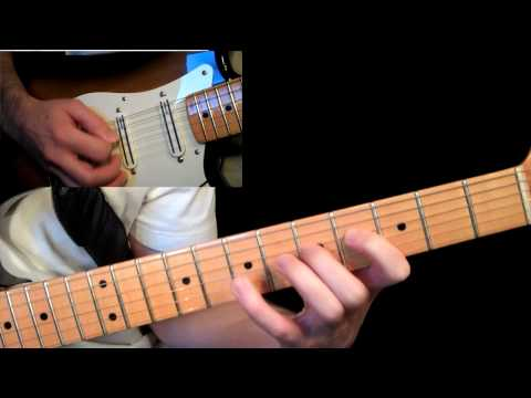Lesson Guitar - C Major Scale - Alternate Picking Riff