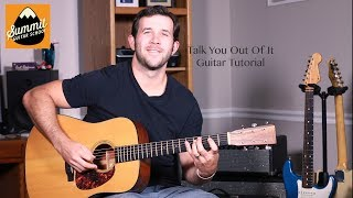 Florida Georgia Line Talk You Out Of It Guitar Tutorial
