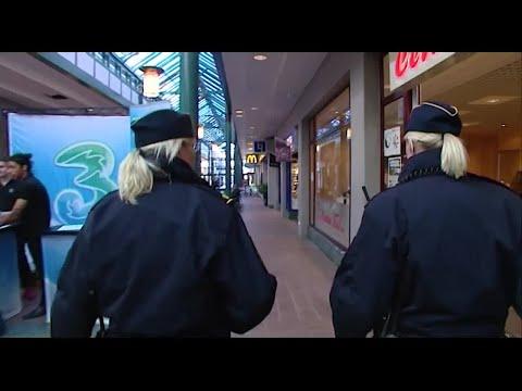 Polisen får utökad rätt att kroppsvisitera - i förebyggande syfte - Nyheterna (TV4)
