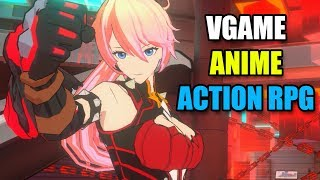 《Vgame》 Anime Action RPG - HD Gameplay - Mobile